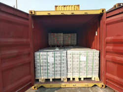 MgAlloy AM60 Container loading