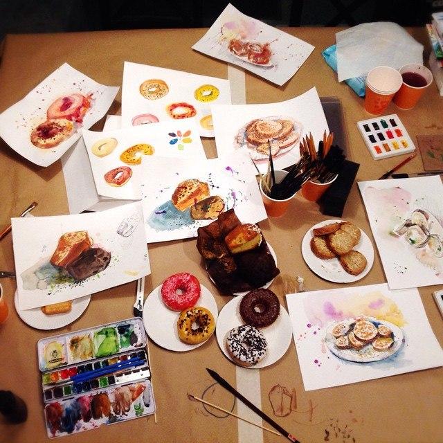 Мк по Food-иллюстрации