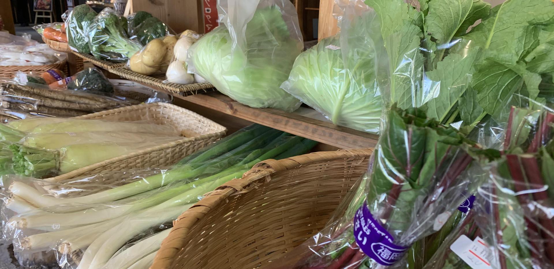 みなぎのマルシェのお野菜