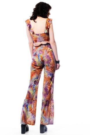 Velvet Tie Dye Top & Velvet Tie Dye Pants