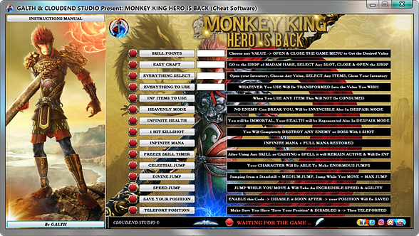 Monkey King Hero Is Back, Monkey king, Cheat, Trainer, Mod, Cheat happens, Fling Trainer, Cheat Engine, We Mod,