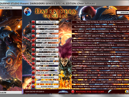 DARKSIDERS GENESIS SPECIAL EDITION (Cheat Software)