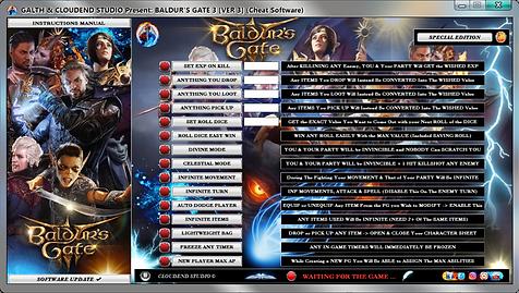 cloudend studio, Baldur's Gate 3, Bg3, Baldur's Gate, Baldur's Gate 3 Trainer, Baldur's Gate 3 codes, Baldur's Gate 3 Tricks, Baldur's Gate 3 Trainer, Baldur's Gate 3 Mod, Baldur's Gate 3 Cheats, BG3 cheat cheat engine BG3 cheat cheat, BG3 cheat cheat table, BG3 cheat cheat pc, BG3 cheat cheats pc, BG3 cheat cheats, BG3 cheat hack, BG3 cheat mods, BG3 cheat save editor, BG3 cheat code, BG3 cheat trick, BG3 cheat trainer, cheats trainer, super cheats, cheats, trainer, code, mod, pc, cheat engine, cheat table, save editor, patch 5,