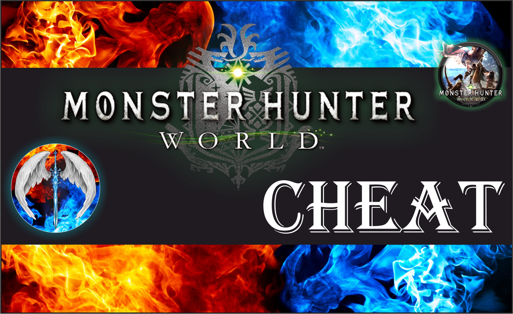 MONSTER HUNTER WORLD + SPECIAL WEAPONS (Ver 167796) Double Cheat Software