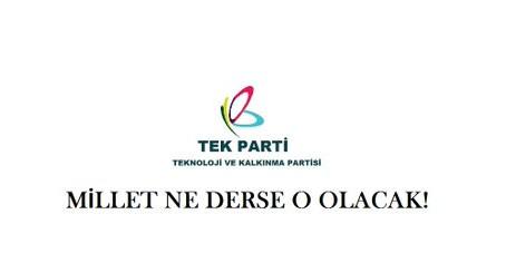 TEK PARTİ