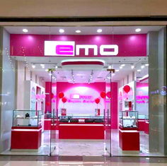 Emo Jewelry Signage Acrylic Sign