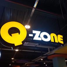 Q Zone Hanging Acrylic Signage