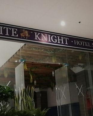 White Knight Hotel Panaflex Signage in Makati City