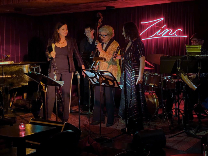 Vocal Mania at Zinc with Gabrielle Stravelli