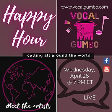 VG Happy Hour Ep14 - Meet The Artists -