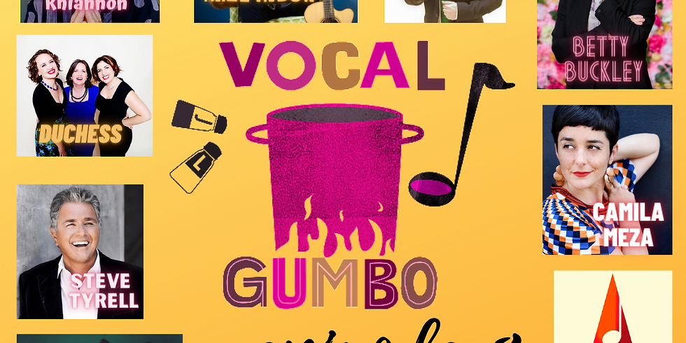 Vocal Gumbo Episode 8 - Raul Midon, Betty Buckley, Rhiannon, Duchess, Steve Tyrell