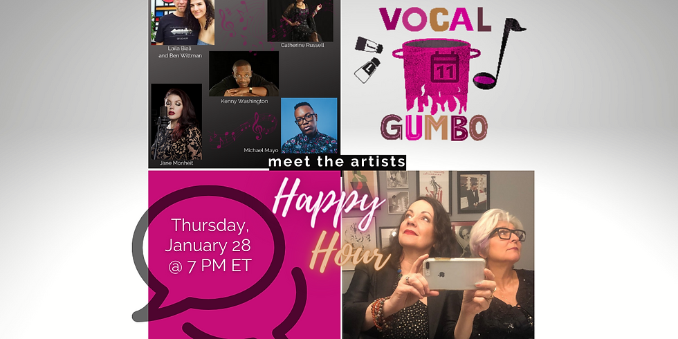 """Vocal Gumbo """"Meet the Artists"""" The Epic 2020 Reflection Round Table"""