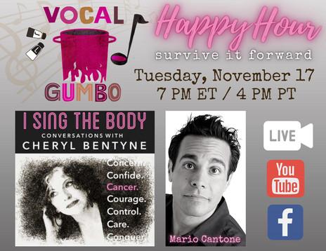 VG HH #14 - Cheryl Bentyne & Mario Cantone
