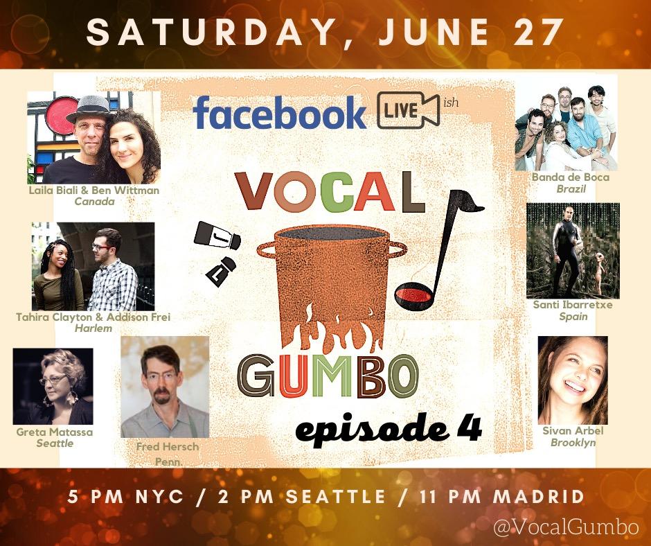 Vocal Gumbo - Episode 4 (Facebook)