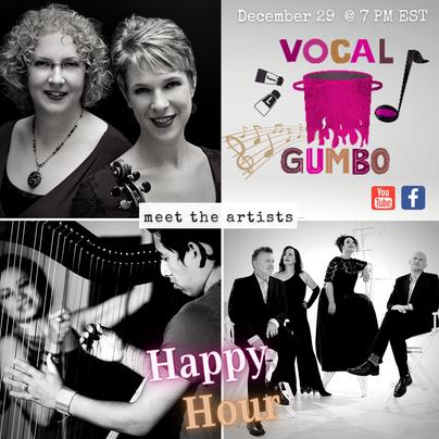 VG HH #16 - New York Voices, the Caswell Sisters, Edmar Castañeda & Andrea Tierra