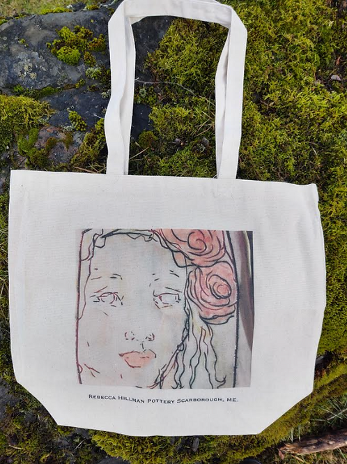 """Tote #2 """"Face"""""""