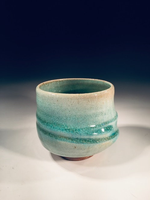 Wabi Sabi Tea Bowl (Wood Fired Stoneware)