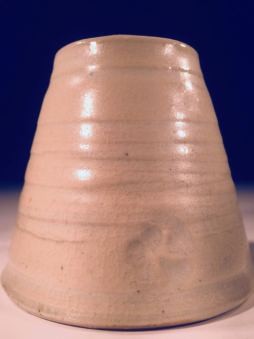 Small Wood Fired Bud Vase