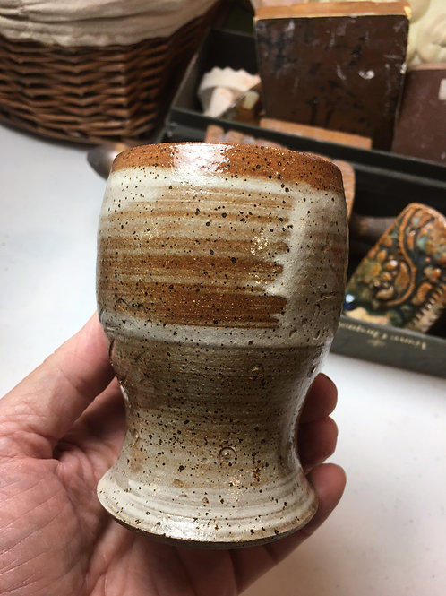 Speckled Stoneware Tumblers