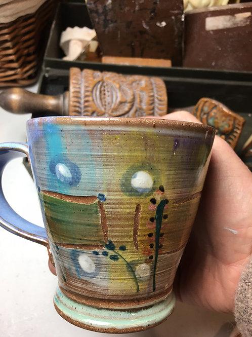 Coffee Mug w/ Castle Blue Interior