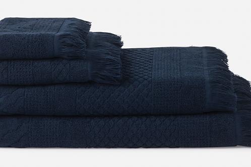 CITTA DESIGN HAND TOWEL - NAVY