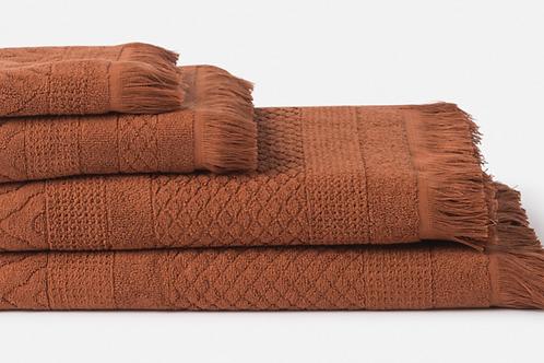 CITTA DESIGN HAND TOWEL - CHESTNUT