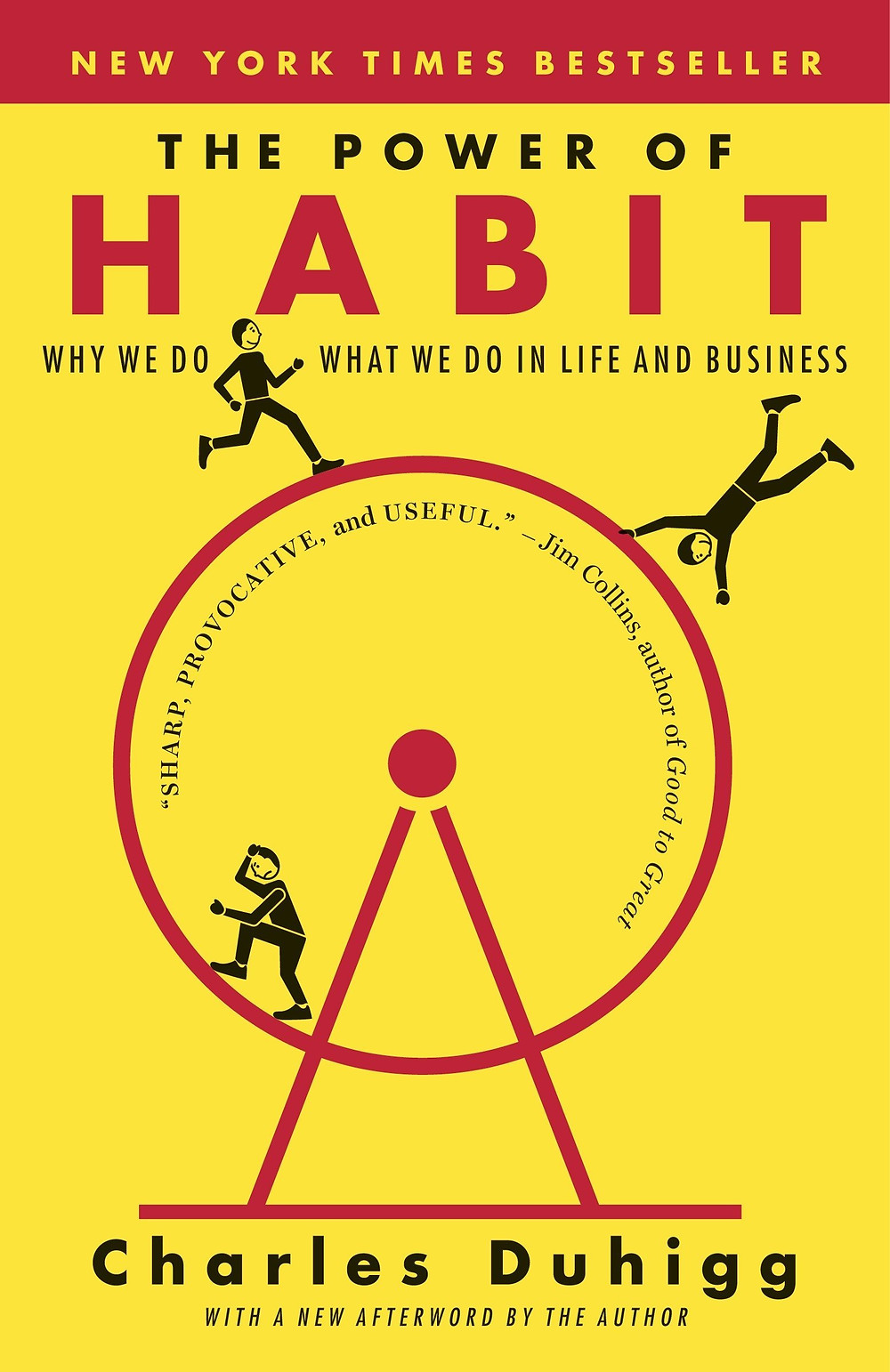 Book cover The Power of Habit Charles Duhigg