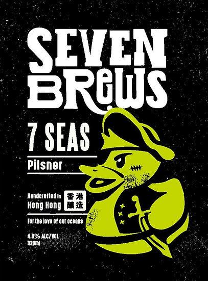 7 Seas Pilsner (24 bottles)