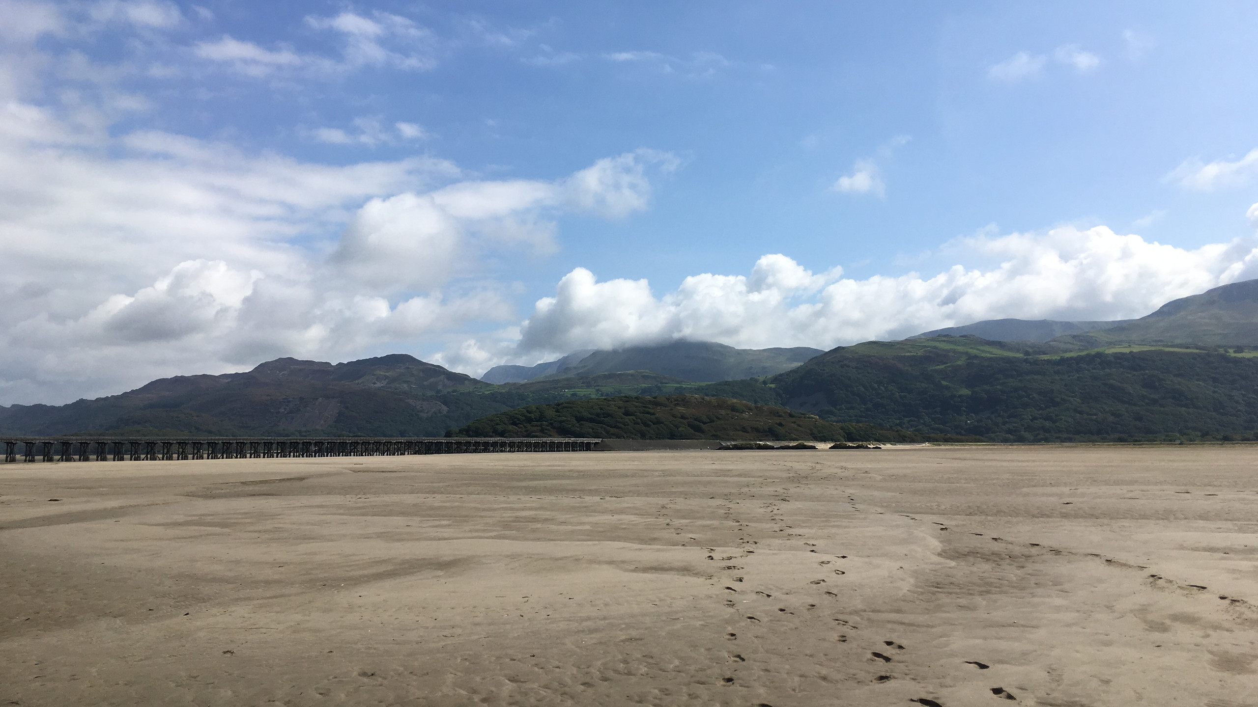 sand - and yes we are still in Wales