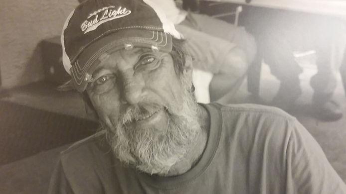 Image of homeless man smiling