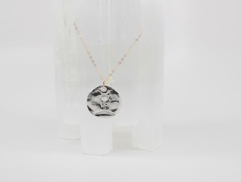 Alchemy symbol for Spirit of Silver