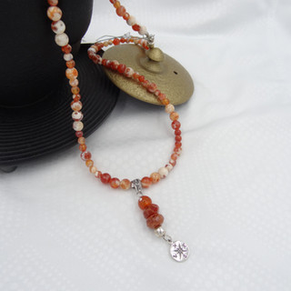 fire agate, sterling silver pendant.JPG