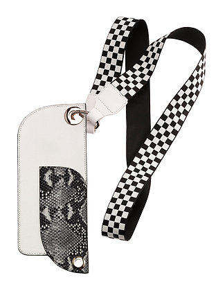 phone pouch with guitar strap