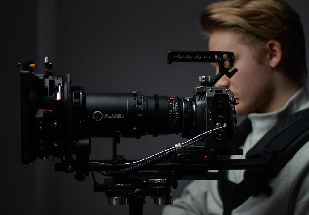 Oxford House Signature Anamorphic Lens for use on all video production projects