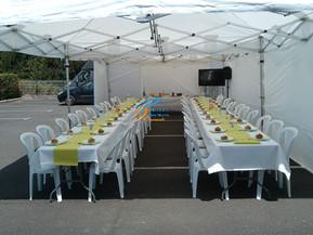 Table ronde, ovale, carré: chaise pvc mariage, Fougères, Vitré, Rennes, Ille et vilaine, Bretagne, Normandie, Mayenne, Pays de la Loire.