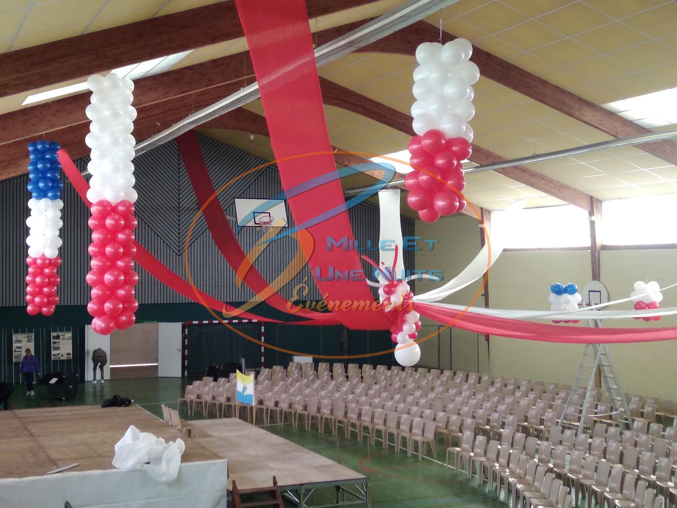 Décoration Ballon comité de jumelage