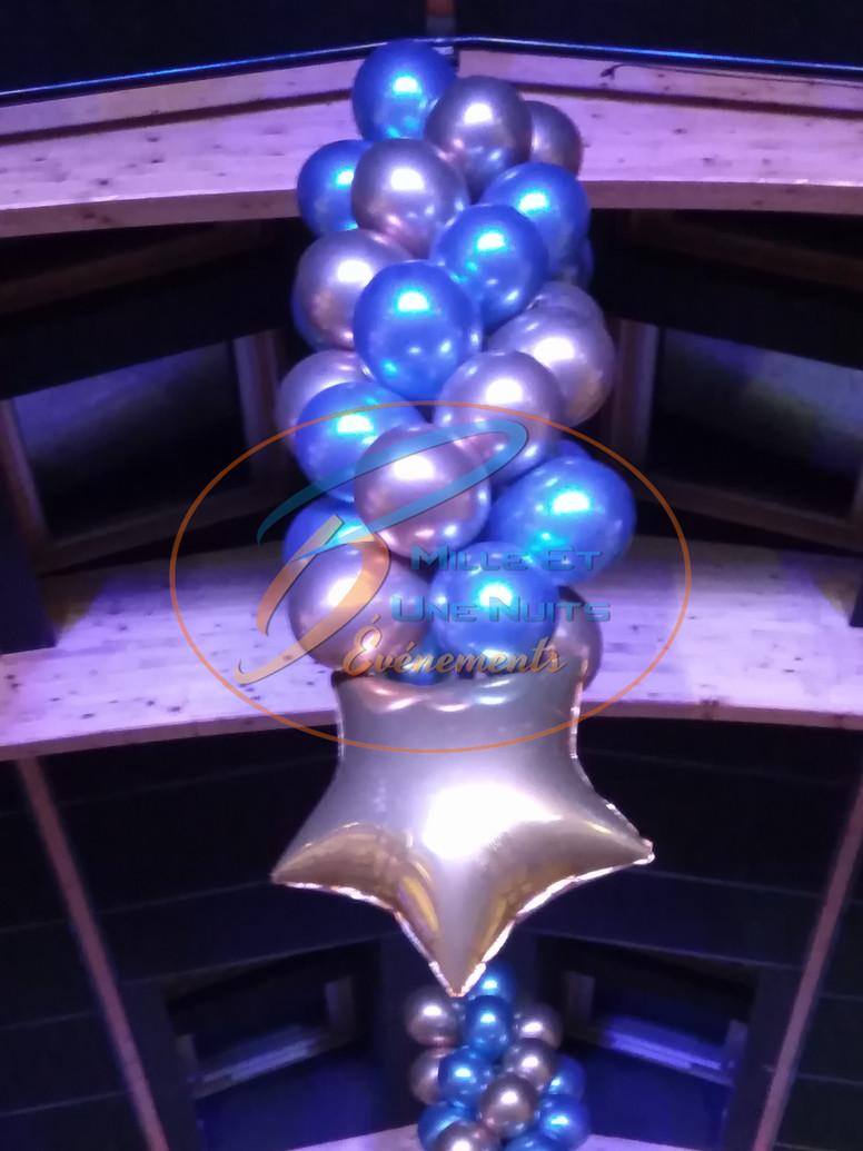 Soirée entreprise Décoration Ballon en Bretagne (ille et vilaine, Fougères, Rennes, Vitré), Normandie, Pays de la loire