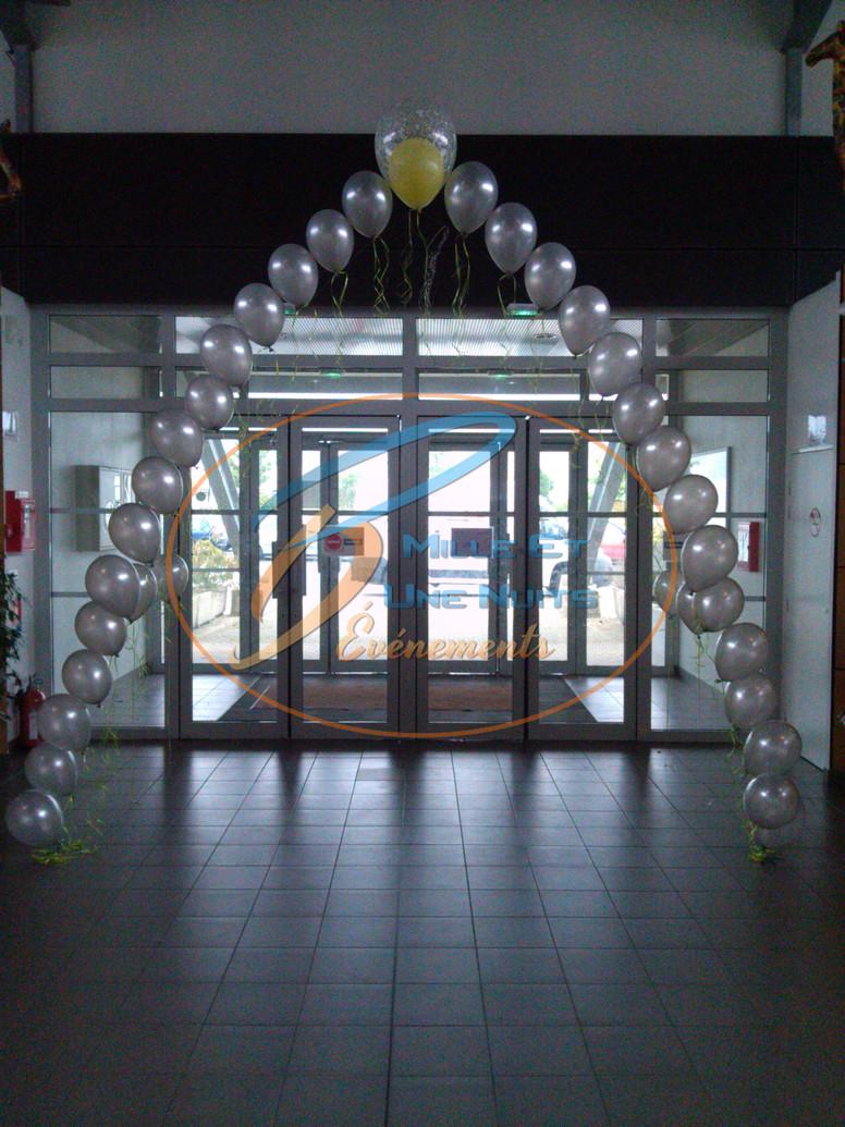 Décoration Arche de Ballon à l'Helium: en Bretagne (ille et vilaine, Fougères, Rennes, Vitré), Normandie, Pays de la loire