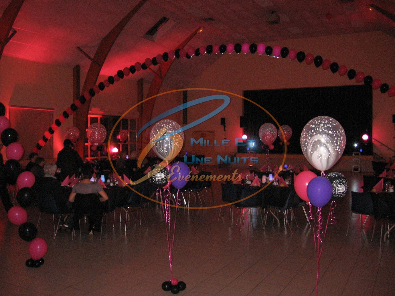 Décoration Arche de Ballon à l'hélium: en Bretagne (ille et vilaine, Fougères, Rennes, Vitré), Normandie, Pays de la loire
