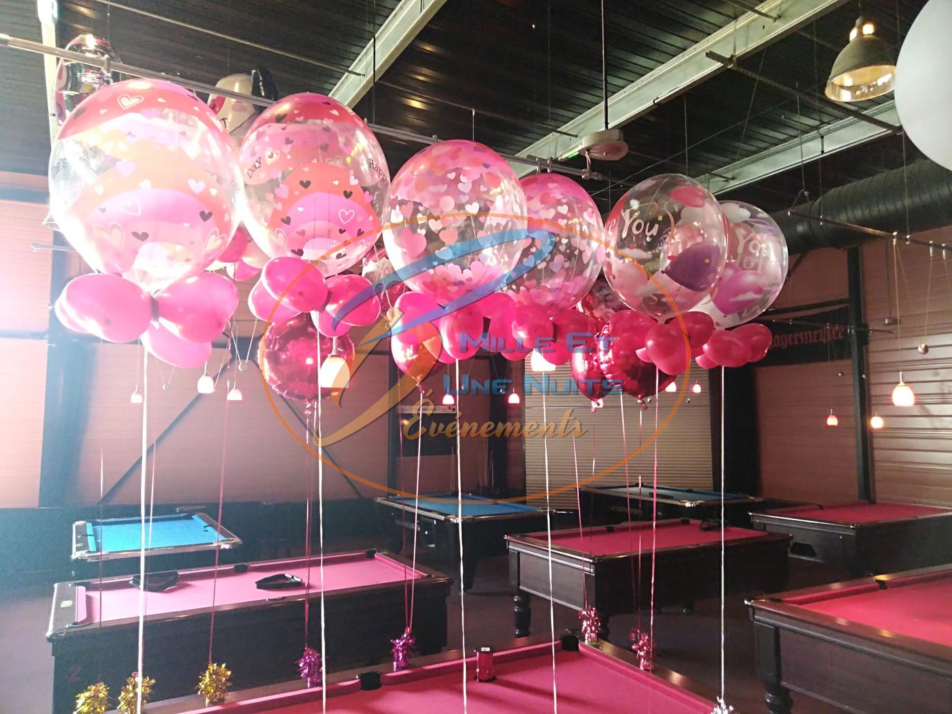 Décoration Ballon st Valentin: en Bretagne (ille et vilaine, Fougères, Rennes, Vitré), Normandie, Pays de la loire