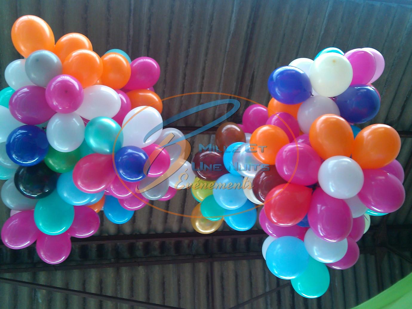 Décoration Nuage de Ballon Anniversaire:: en Bretagne (ille et vilaine, Fougères, Rennes, Vitré), Normandie, Pays de la loire