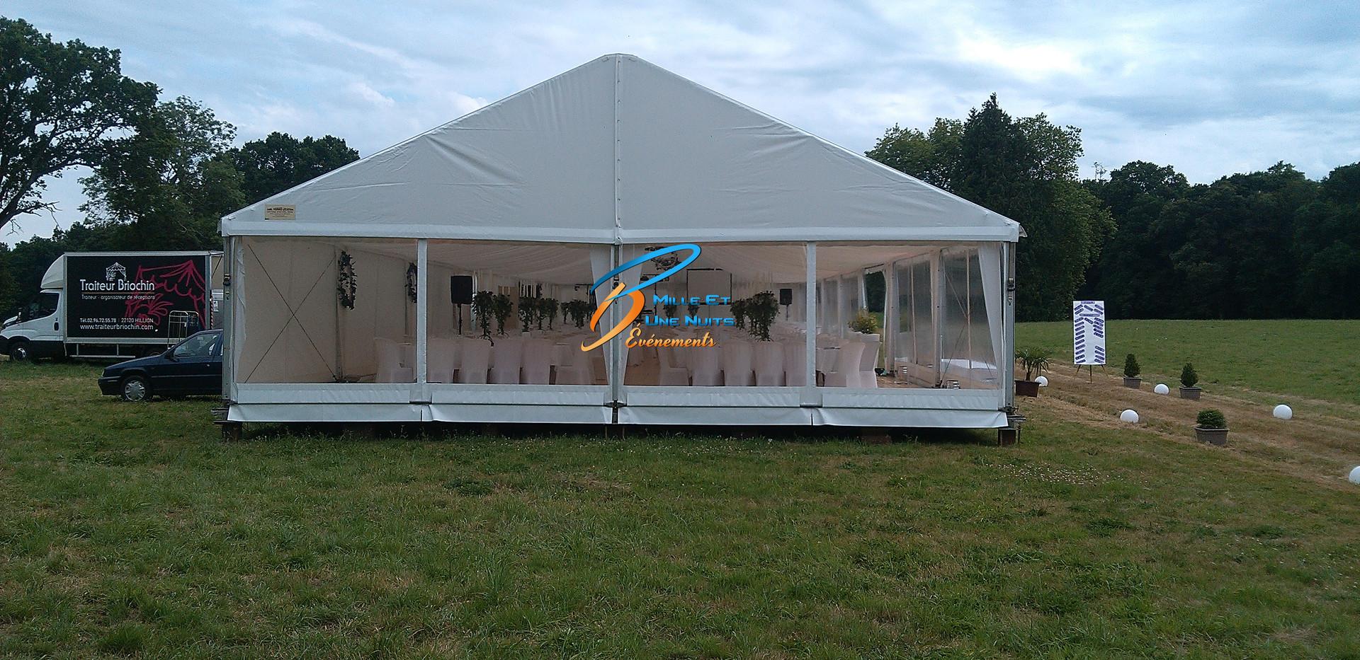 Chapiteau réception Rennes, Vitré, Fougères, Ille et vilaine, Bretagne, Mayenne, Pays de la loire, Normandie.