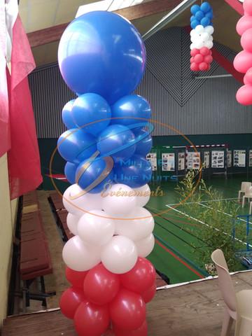 Décoration colonne de Ballon