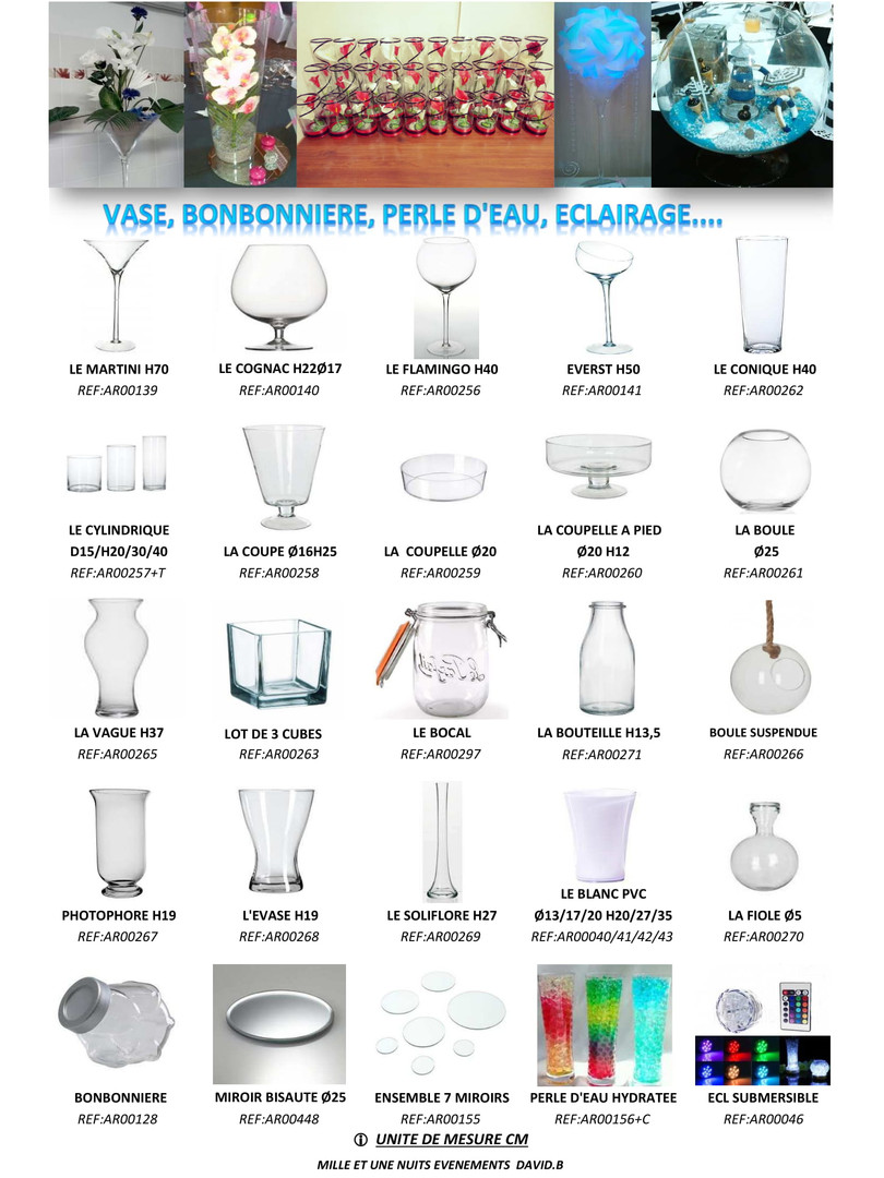 P17 Location vase, vase martini: Fougères, Vitré, Rennes, Ille et Vilaine, Laval, Mayenne, Bretagne, Normandie, Pays de La loire...