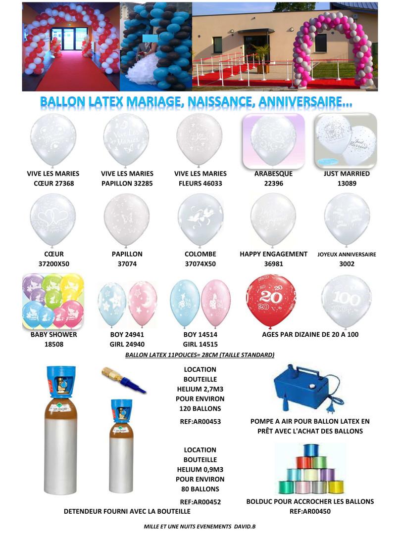 P21. Décoration Ballon Evénementiel Fougères, Vitré, Rennes, Ille et Vilaine, Laval, Mayenne, Bretagne, Normandie, Pays de La loire...