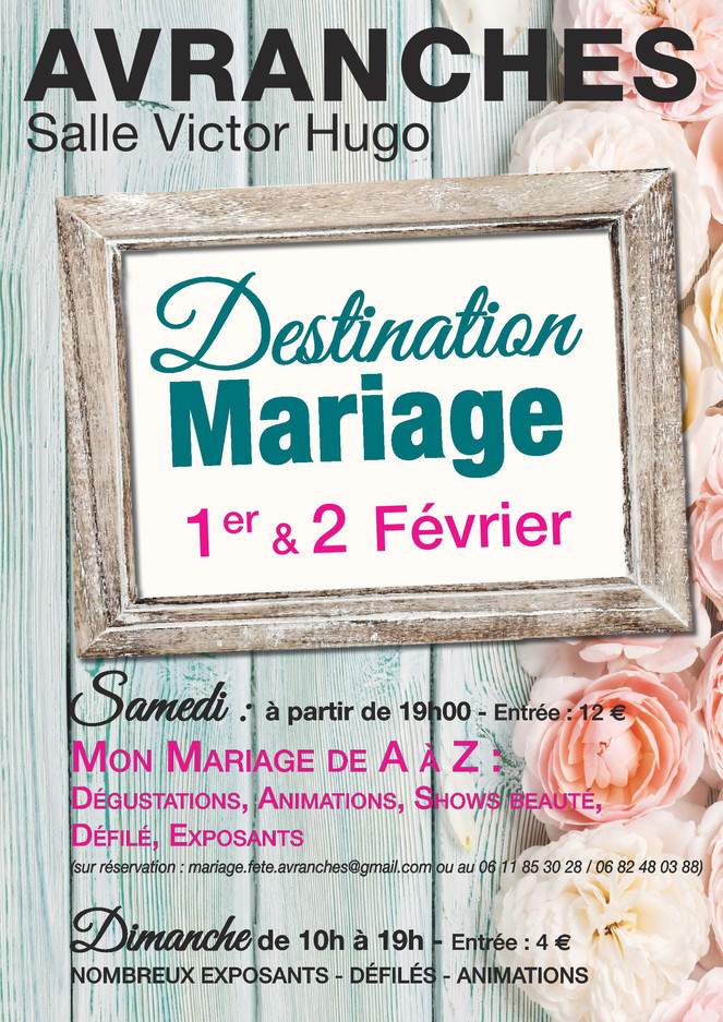 Salon Destination Mariage Avranches