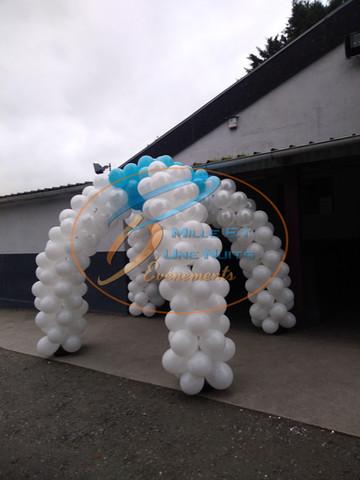 Décoration Arche Igloo de Ballon : en Bretagne (ille et vilaine, Fougères, Rennes, Vitré), Normandie, Pays de la loire