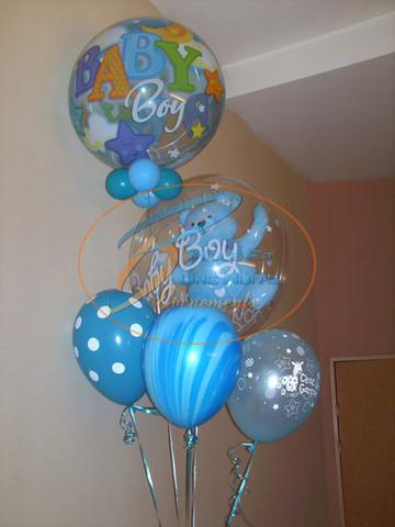 Décoration Bouquet de Ballon Naissance, Baby Shower: en Bretagne (ille et vilaine, Fougères, Rennes, Vitré), Normandie, Pays de la loire