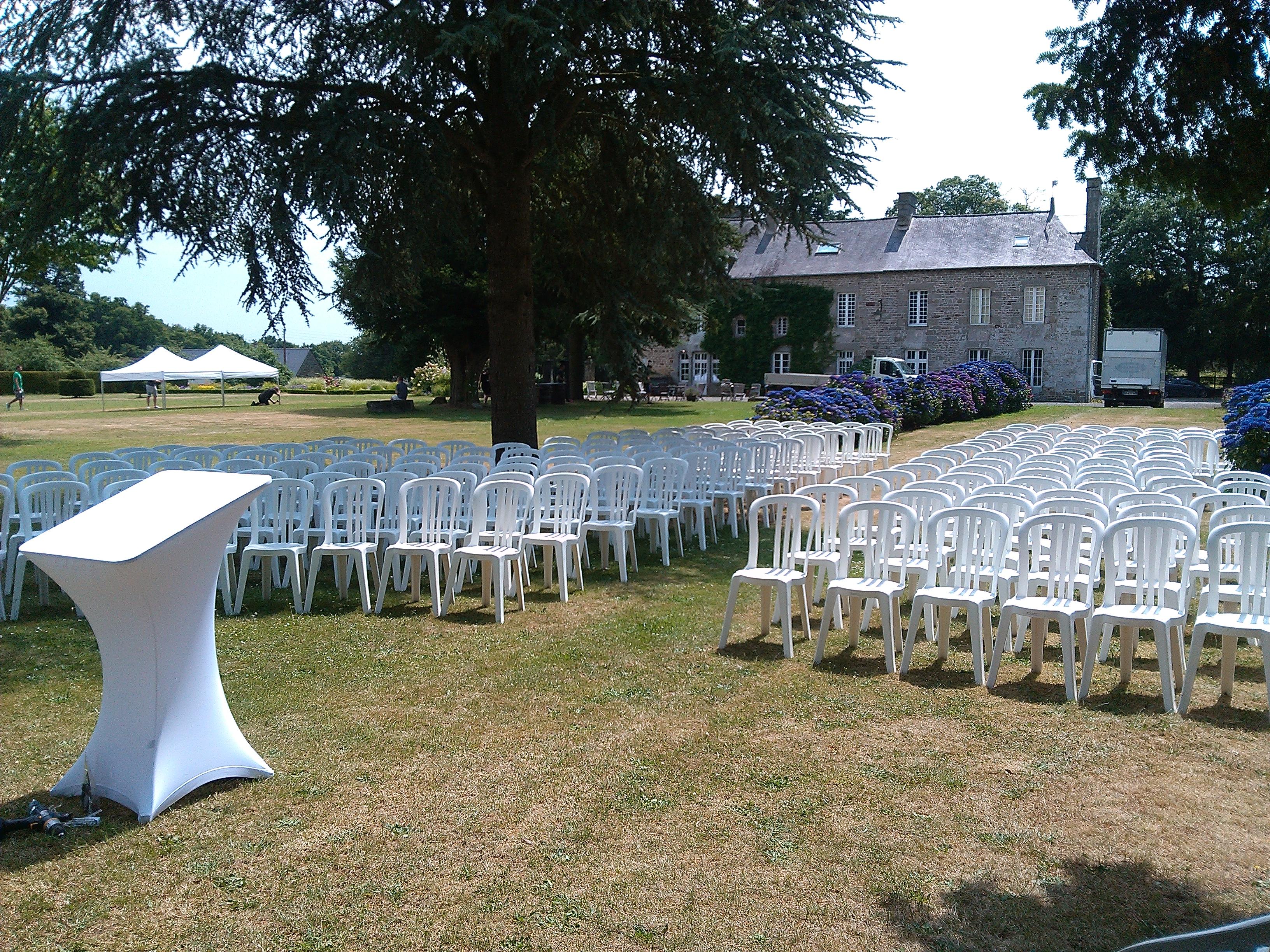 Location chaise cérémonie Laïque
