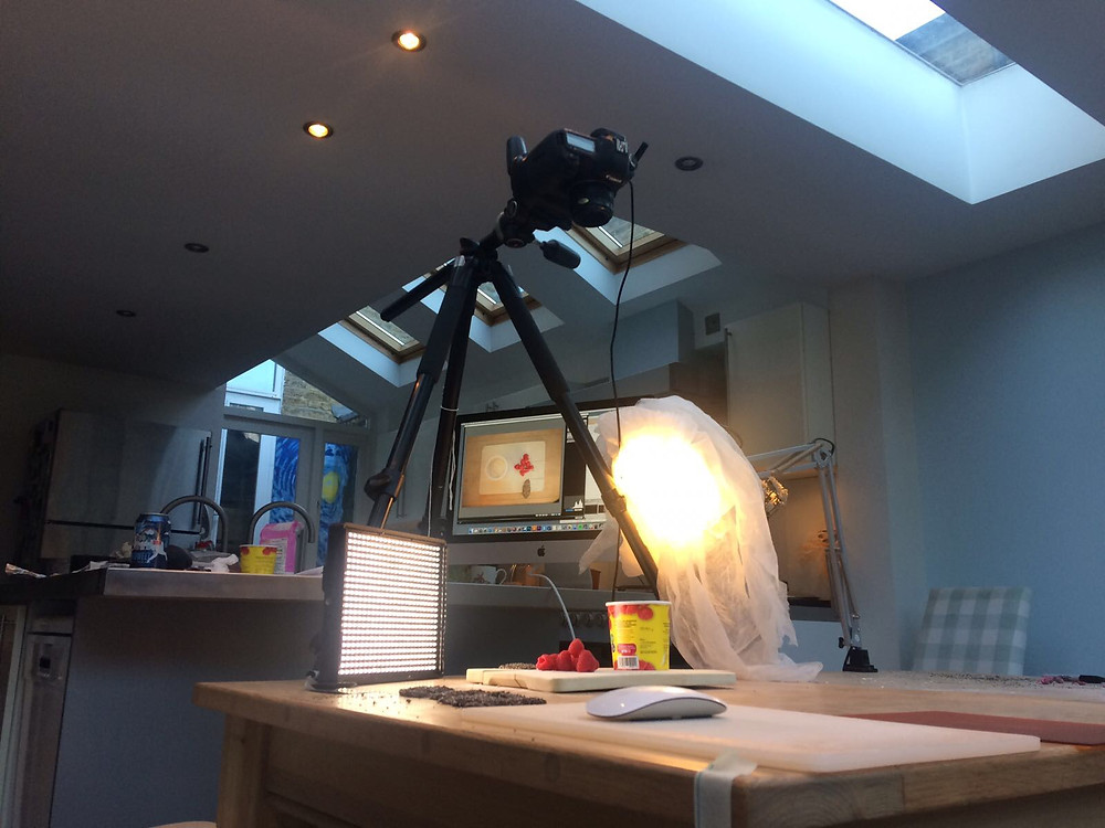 Camera set up for stop motion